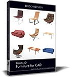 DOSCH 3D: Furniture for CAD